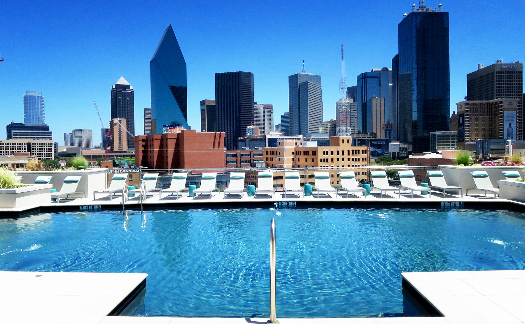 Wonderful Apartments In Downtown Dallas With The Best Pools Pictures