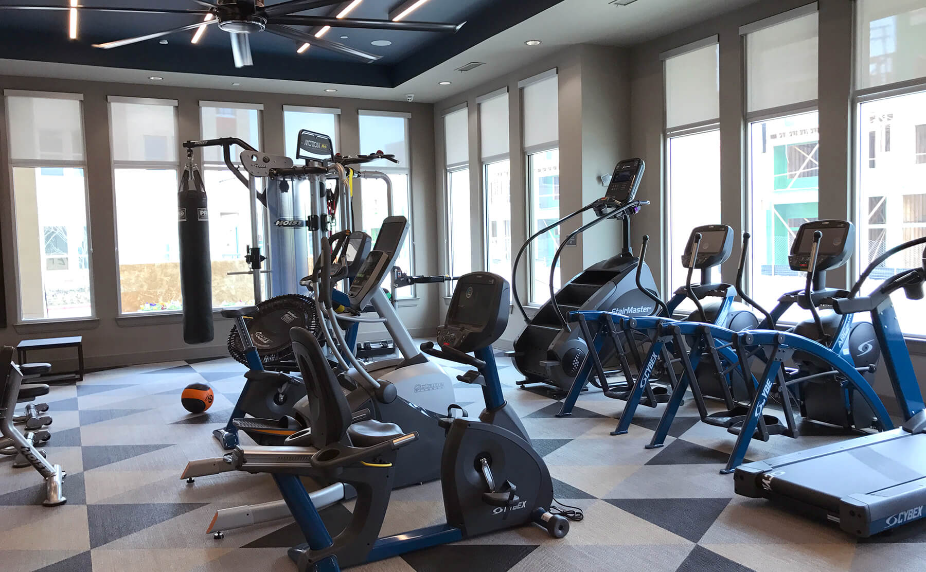 Apartments in Frisco with fitness centers
