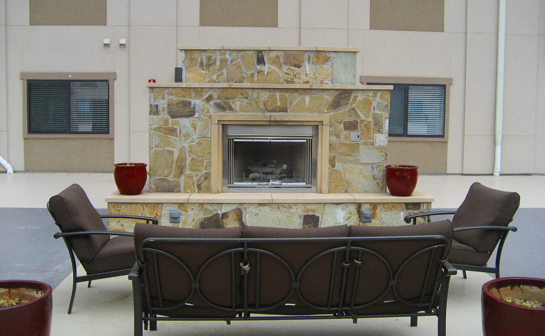 Apartments in McKinney with the Fire Pits