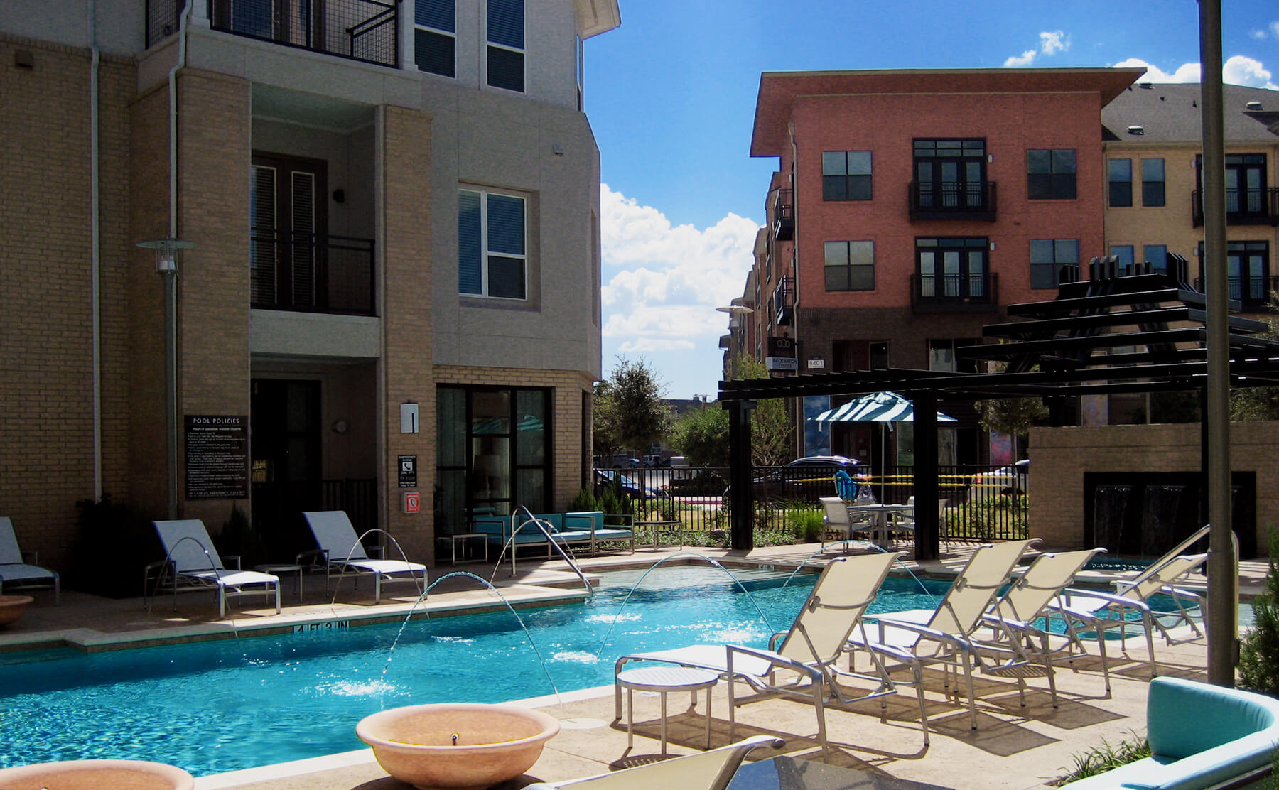 Plano Apartment Living - Poolside