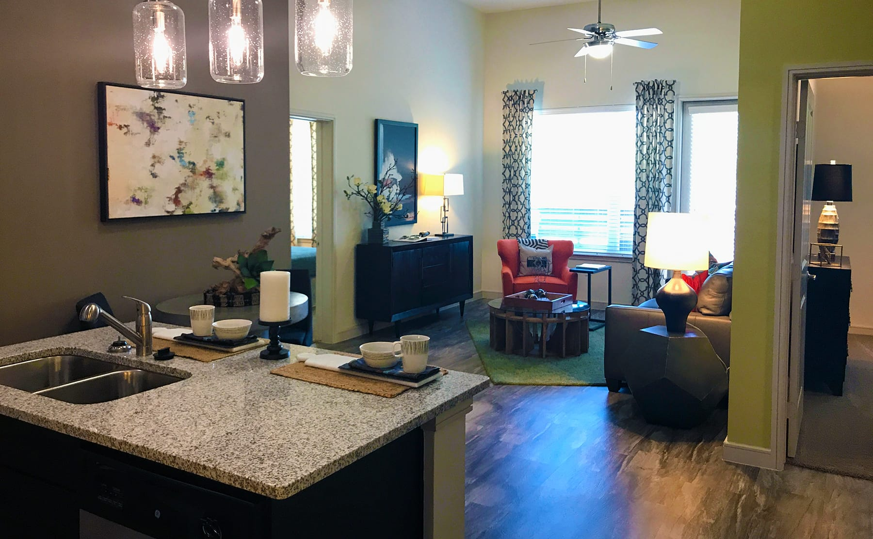 Apartments in The Cedars Dallas with Open Layout Floorplans